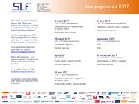 SLF jaarprogramma '17 gepubliceerd