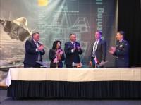European Warehouse voor F-35 onderdelen ceremonieel geopend