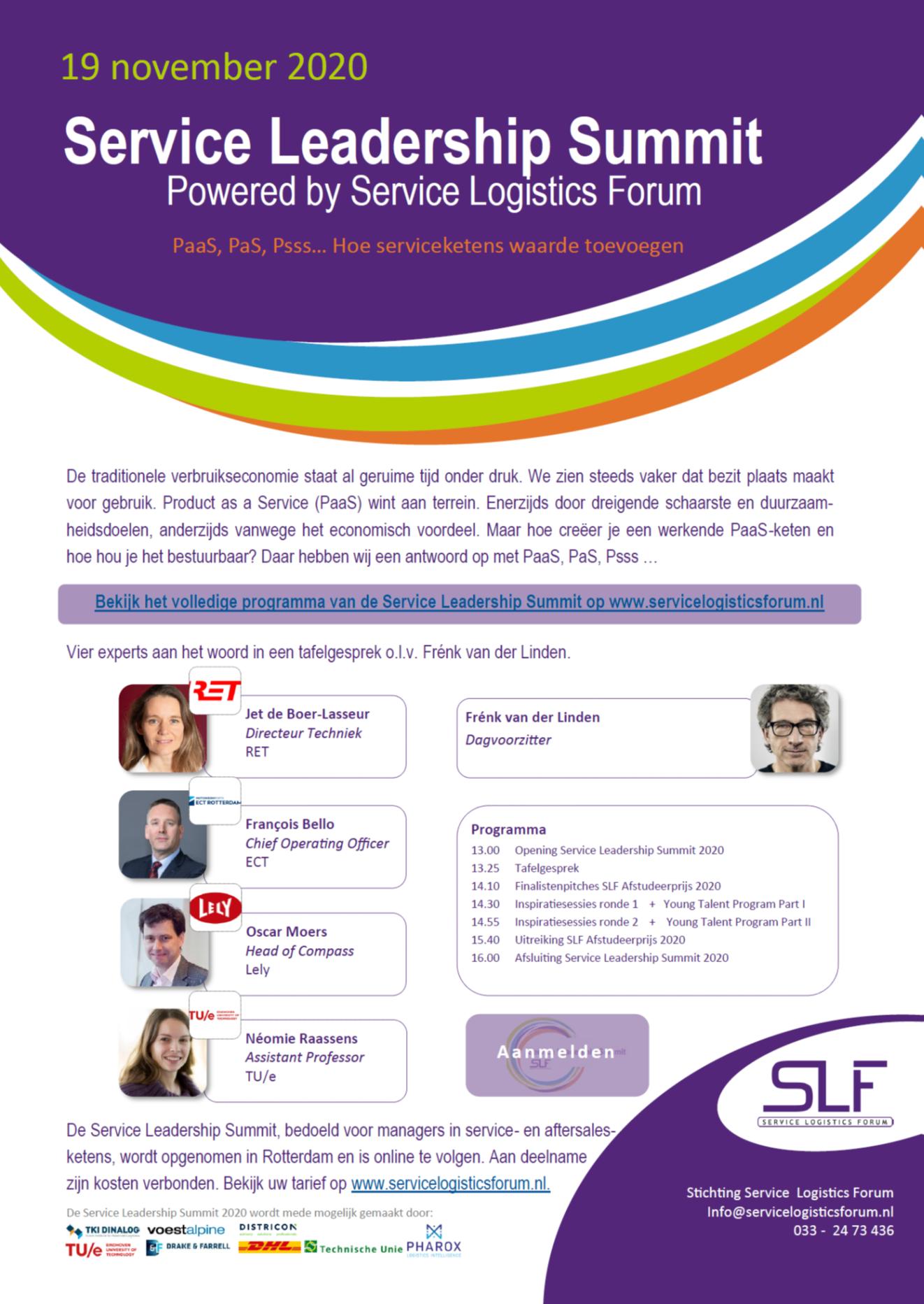 Service Leadership Summit 2020_Flyer