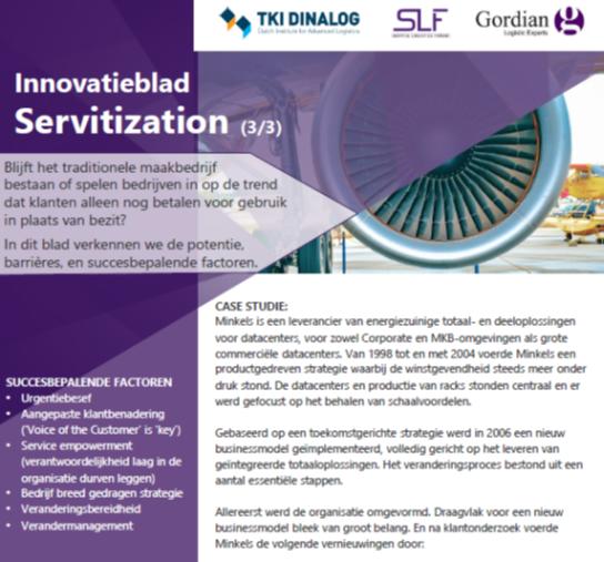 Innovatieblad Servitization